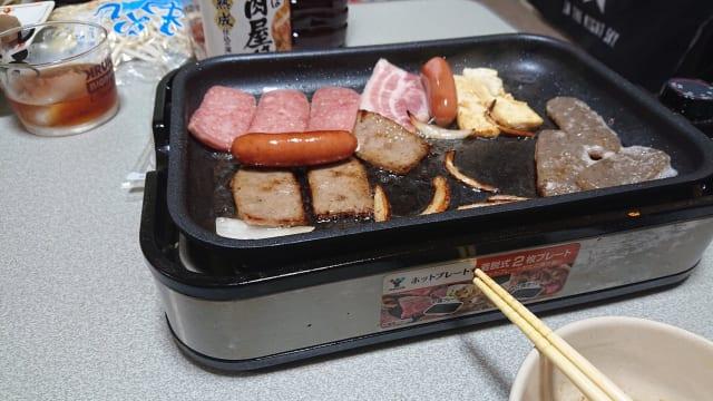 【画像】ワイ、一人で焼肉パーティーを敢行wwwwww