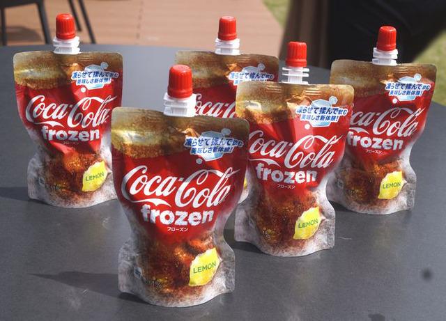 【朗報】コカ・コーラ史上初のフローズン飲料「コカ・コーラ フローズン レモン」発売  ファンタもあるよ