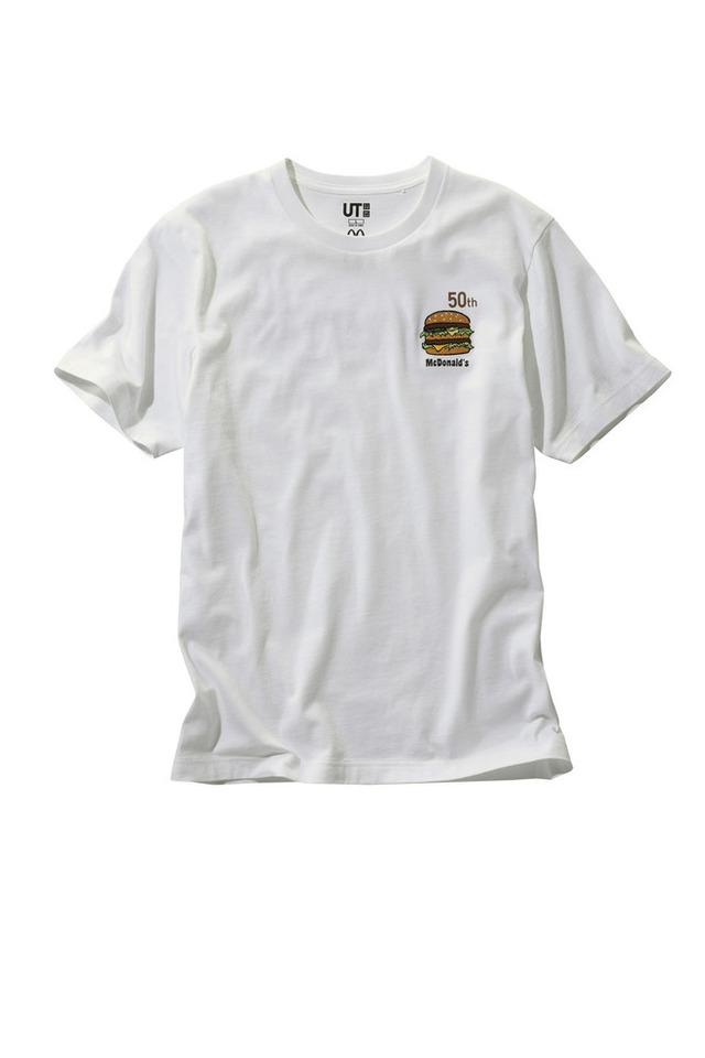 ユニクロ、ビッグマックが安く買えるTシャツを発売!