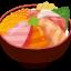 【画像】アメリカの海鮮丼がこちらwwwwwwww
